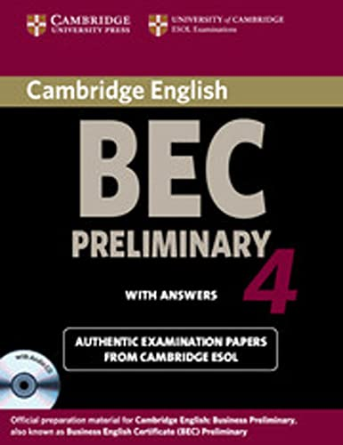 9783125345652: Cambridge BEC. Self-study Pack. Student's Book with answers and Audio CD. Preliminary 4