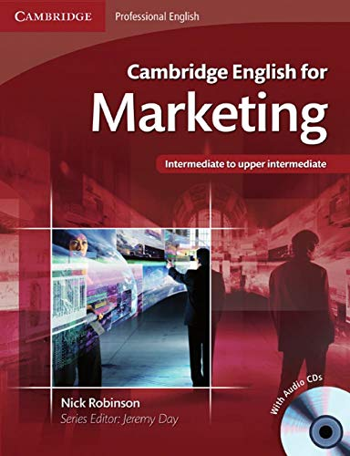 9783125346352: Cambridge English for Marketing: Student's Book + Audio-CD