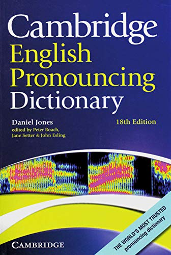 9783125346871: Cambridge English Pronouncing Dictionary: Eighteenth edition