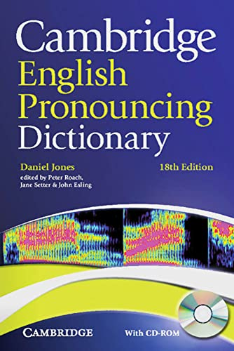 9783125346888: Cambridge English Pronouncing Dictionary: Eighteenth edition with CD-ROM