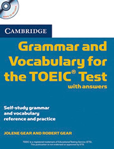 9783125347038: Cambridge Grammar and Vocabulary for the TOEIC Test, w. 2 Audio-CDs
