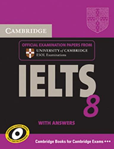 9783125347069: Cambridge IELTS 8. Self-Study Pack