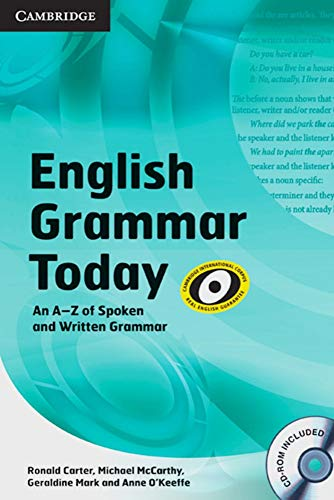 9783125347274: English Grammar Today / Book with CD-ROM
