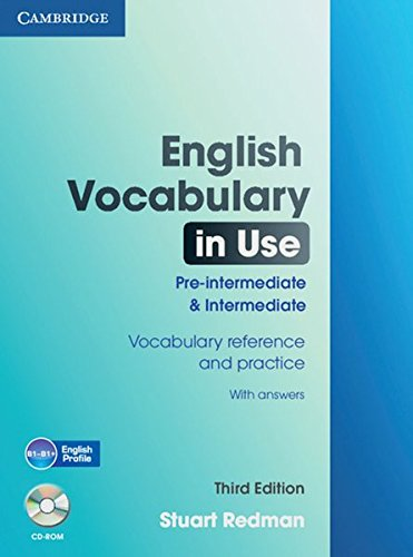 9783125347618: English Vocabulary in Use. Pre-Intermediate and Intermediate. Edition with answers and CD-ROM