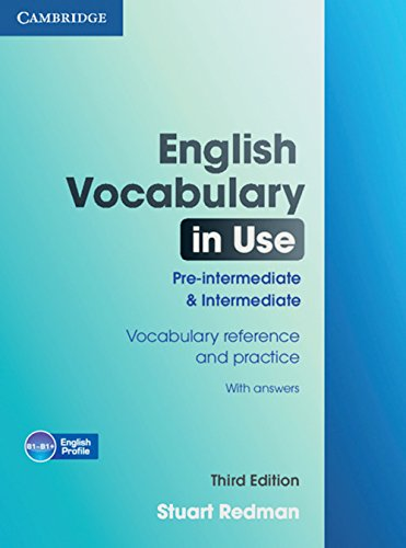 9783125347625: English Vocabulary in Use. Pre-Intermediate and Intermediate. Edition with answers