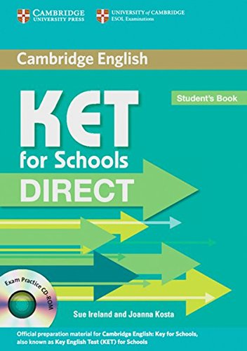 9783125348509: KET for Schools Direct. Student's Book with CD-ROM