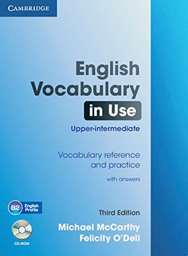 9783125349575: English Vocabulary in Use - Upper-intermediate (Third Edition). Book with answers and CD-ROM