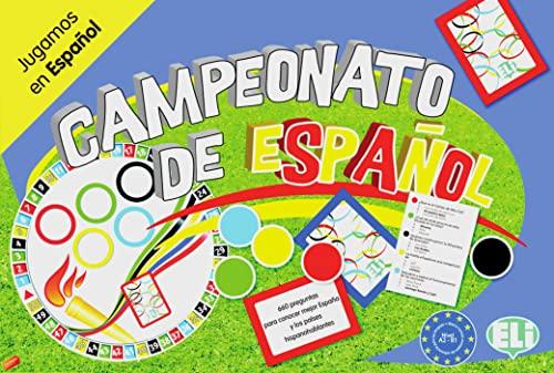 9783125349698: Campeonato de español A2/B1: Spielbrett mit Zubehör