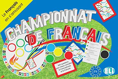 Championnat de français (A2-B1): Spielbrett + Zubehör