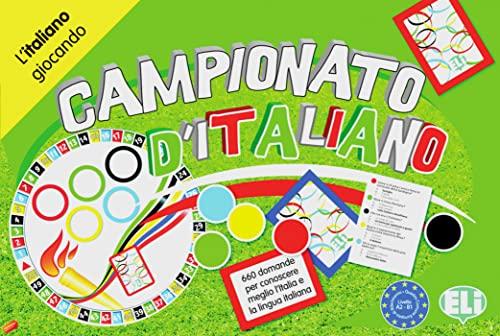 9783125349780: Campionato d'italiano: Spielbrett + Zubehör A2-B1