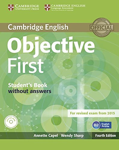 9783125350588: Objective First - Fourth Edition. Student's book and CD-ROM