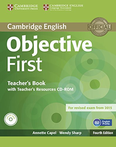 9783125350595: Objective First - Fourth Edition. Teacher's Book with Teacher's Resources Audio CD/CD-ROM