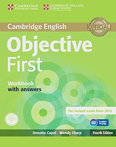 9783125350618: Objective First - Fourth Edition. Workbook with answers with Audio CD