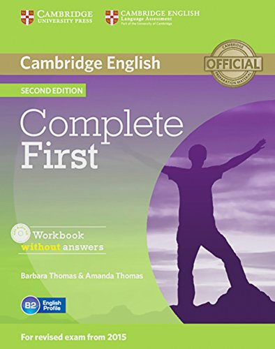 9783125350779: Complete First - Second Edition. Workbook without answers with Audio CD