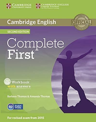 9783125350786: Complete First - Second Edition. Workbook with answers with Audio CD
