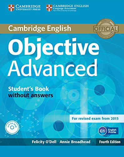 9783125351165: Objective Advanced. Student's Book without answers with CD-ROM: 4rth Edition