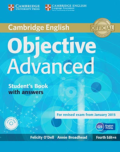 9783125351189: Objective Advanced. Student's Book with answers with CD-ROM: 4rth Edition