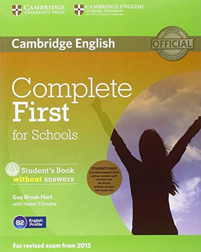 9783125351301: Complete First for Schools. Student's Pack (Student's Book without answers with CD-ROM, Workbook without answers with Audio)