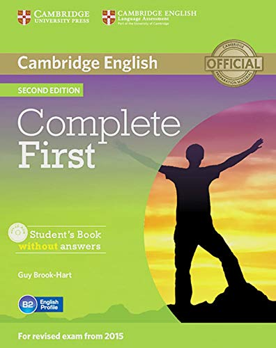 9783125351387: Complete First: Student's Book without answers with CD-ROM