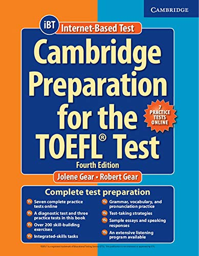 9783125351578: Cambridge Preparation for the TOEFL Test. Fourth Edition. Book with Online Practice Tests