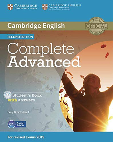 9783125351615: Complete Advanced - Second edition / Student's Book with answers with CD-ROM