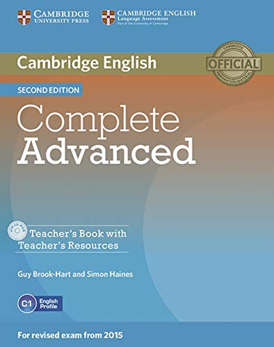 9783125351639: Complete Advanced - Second edition / Teacher's Book with Teacher's Resources CD-ROM