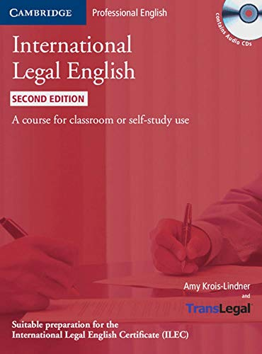 9783125351905: International Legal English. Student's Book + 3 Audio-CDs: A course for classroom or self-study use
