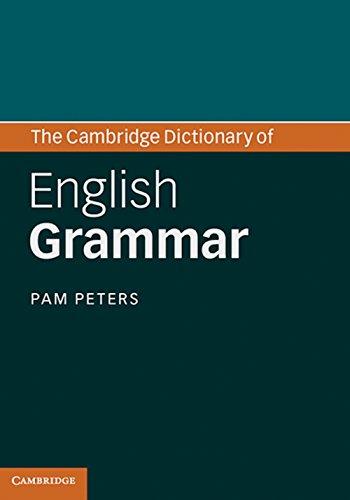9783125352001: The Cambridge Dictionary of English Grammar