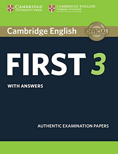 9783125352124: Cambridge English First 3. Student's Book with answers