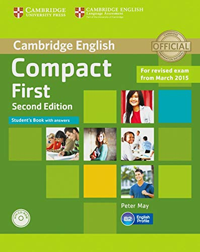 9783125352636: Compact First. Student's Book with answers with CD-ROM: 2nd Edition