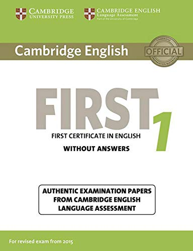 9783125352957: Cambridge English First 1 for updated exam. Student's Book without answers