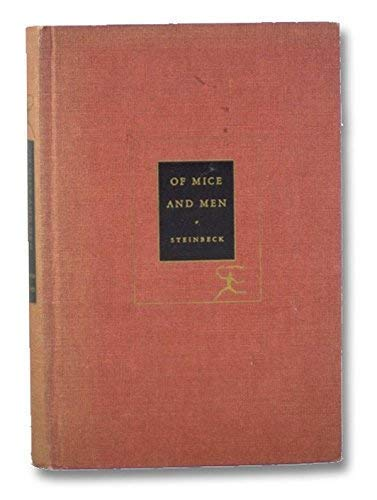 Of Mice and Men Of Mice And Men, John Steinbeck, Used, 9783125353107