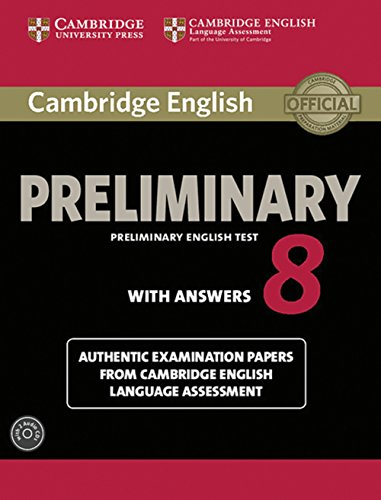 9783125353138: Cambridge English Preliminary 8. Student's Book with answers and Audio CDs (2)
