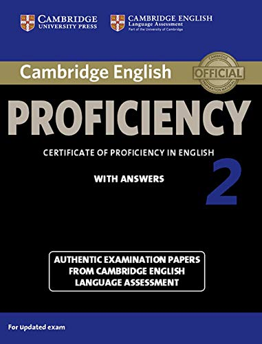 9783125353220: Cambridge English Proficiency 2 for updated exam. Student's Book with answers