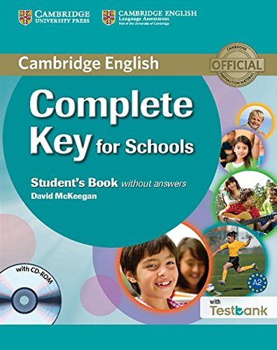Testbank Complete Key for Schools. Student's Book without answers with CD-ROM with Testbank