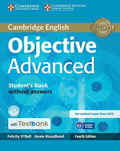 9783125353770: Testbank Objective Advanced Fourth edition. Student's Book without answers with CD-ROM with Testbank
