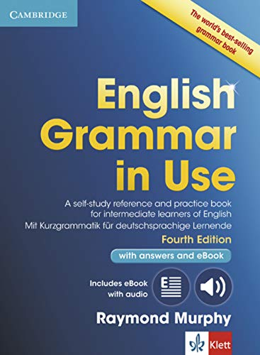 9783125354043: English Grammar in Use. Fourth edition. . Book with pullout grammar, answers and interactive ebook: Fourth edition