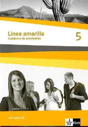 9783125356313: Línea amarilla. Spanisch als 2. Fremdsprache. Cuadernos de actividades 5 mit Audio-CD