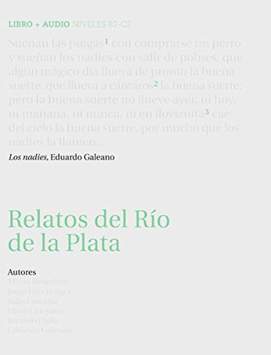 9783125357327: Relatos del R�o de la Plata. Buch mit Audio-CD: (B2-C2)