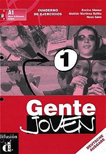 9783125357426: Gente Joven 1. Arbeitsheft. Cuaderno de Ejercicios: Curso de Espanol para Jovenes