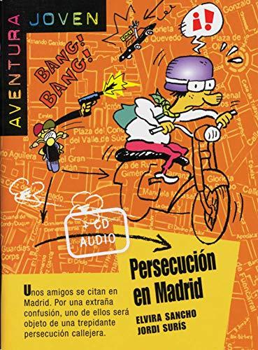 9783125357556: Aventura joven. Persecución en Madrid
