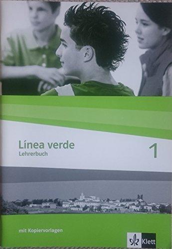 9783125358324: Línea verde. Spanisch als 3. Fremdsprache / Schülerbuch: Lehrerbuch