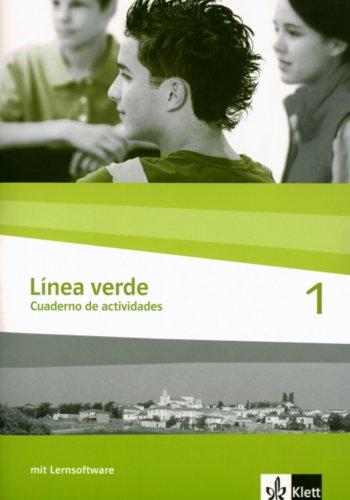 9783125358416: Linea verde 1. Arbeitsheft / Cuaderno de actividades. Mit CD-ROM