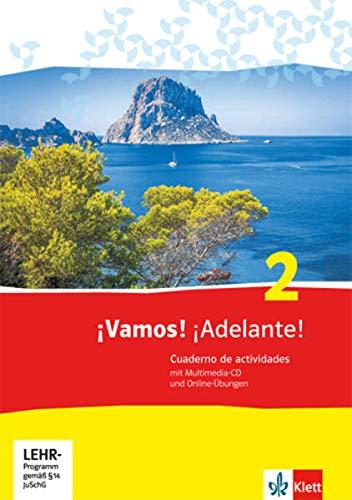 9783125360310: ¡Vamos! ¡Adelante! 2. Cuaderno de actividades mit Multimedia-CD und Online-Übungen