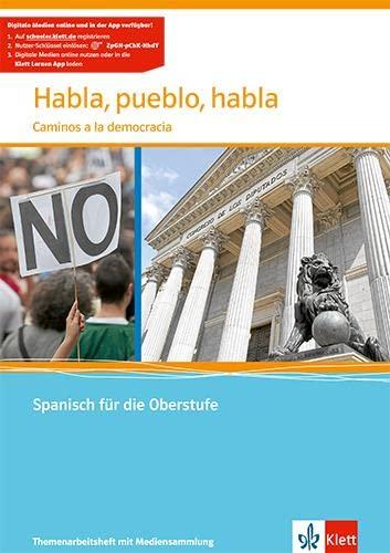 9783125369511: Habla, pueblo, habla. Themenheft mit CD: Caminos a la democracia