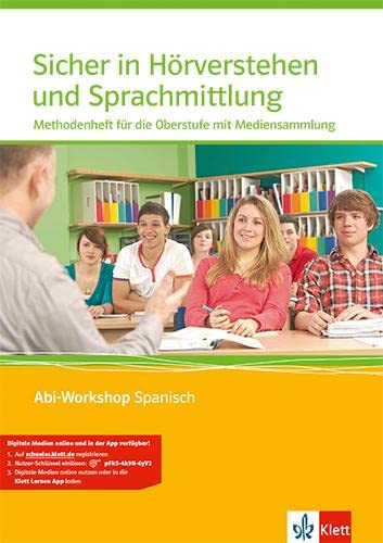 9783125369603: Abi Workshop. Spanisch. Sicher in Hörverstehen und Sprachmittlung. Methodenheft für die Oberstufe mit Multimedia-CD