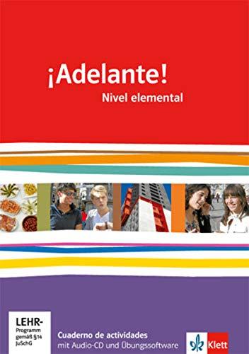 9783125380035: ¡Adelante!. Cuadernos de actividades mit Multimedia-CD. Nivel elemental: Spanisch für berufl. Schulen und spätbeginnende Fremdsprache