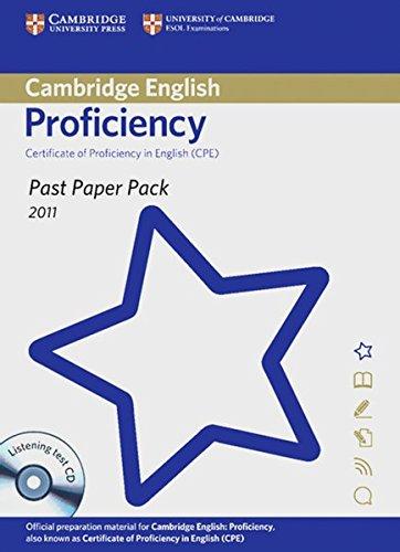 9783125388017: Cambridge English: Proficiency 2011 (CPE)