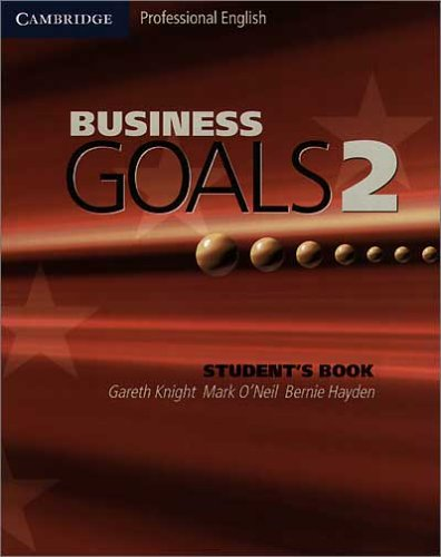9783125391819: Business Goals 2. Student's Book: Lower intermediate
