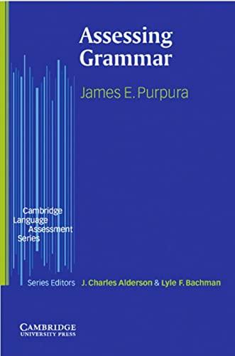 9783125393691: Assessing Grammar